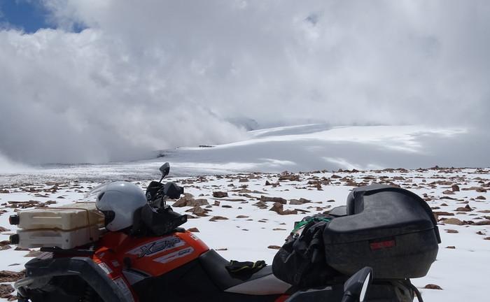ашот в снегу