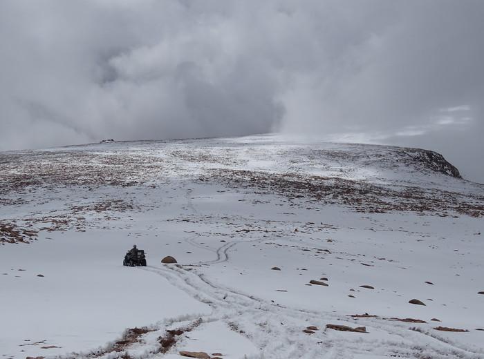 спуск с ледника
