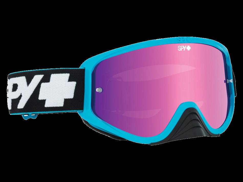 Очки Mx Spy Optic Woot Race Унисекс, Slice Blue-Smoke Pink Spectra - Clear Afp в Азимут 66